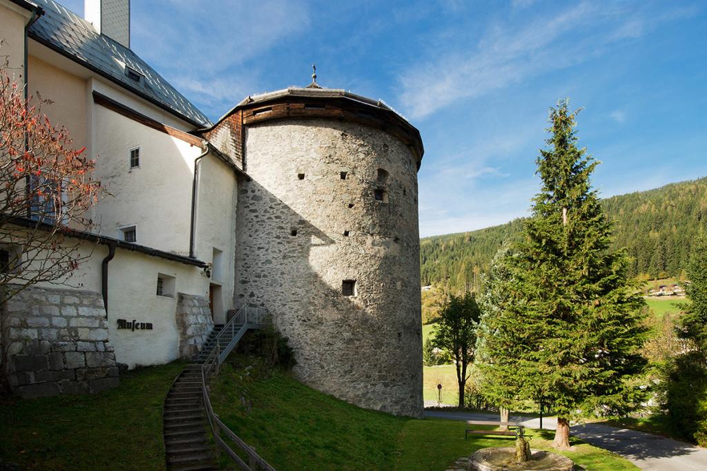 Kapuzinerturm - Radstadt Museum - Kontakt - Lage - Anreise